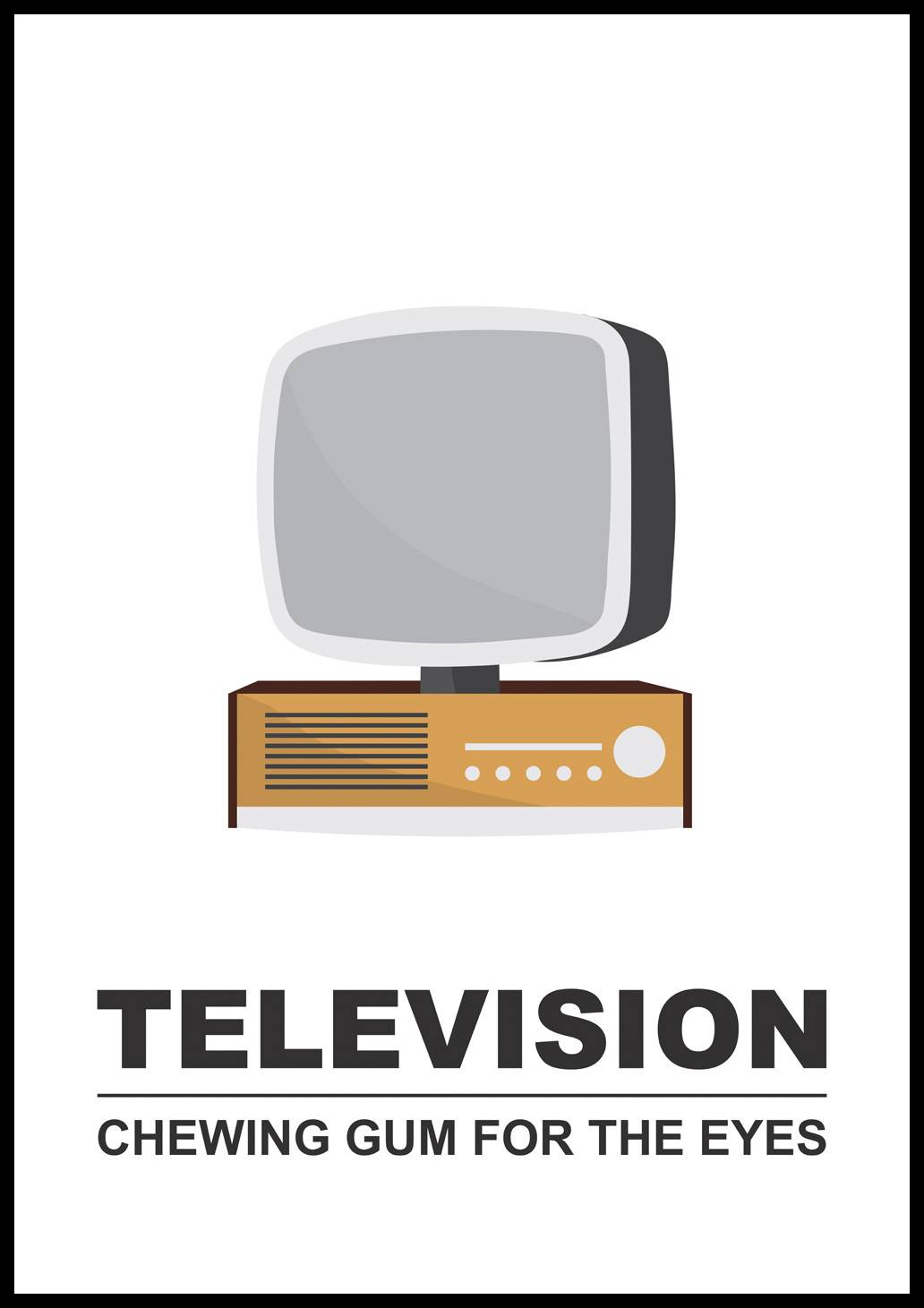 Bildverkstad Television - Chewing gum for the eyes