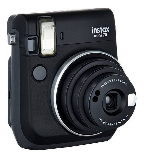 Focus Fujifilm Instax Mini 70 Kamera - Black