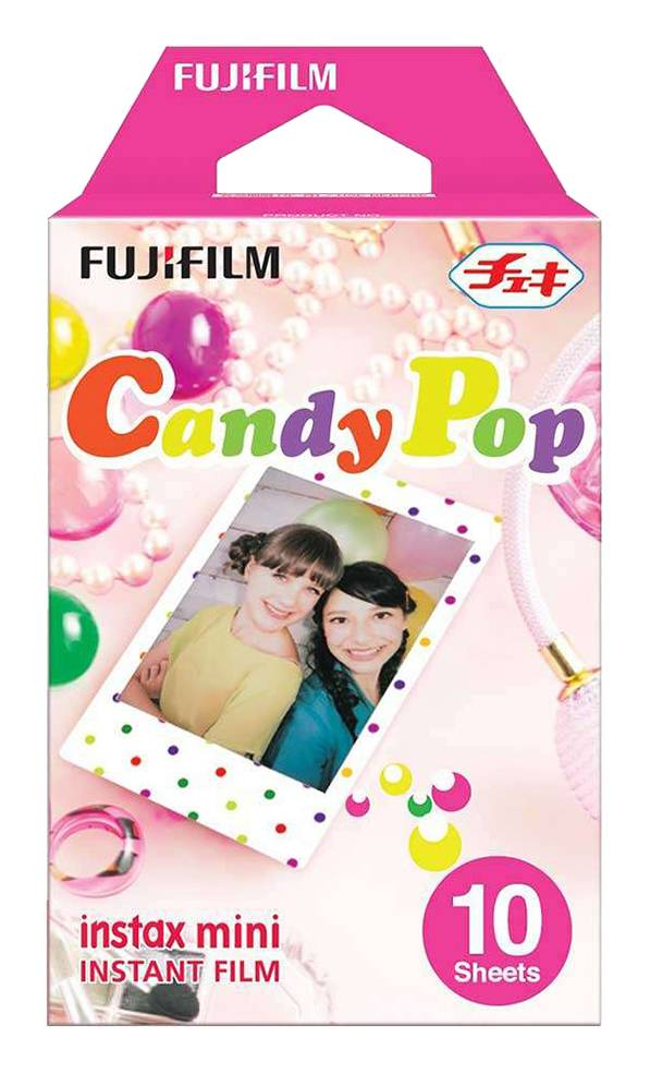 Focus Fuji Instant Film Mini Candy Pop - 10 Kuvaa