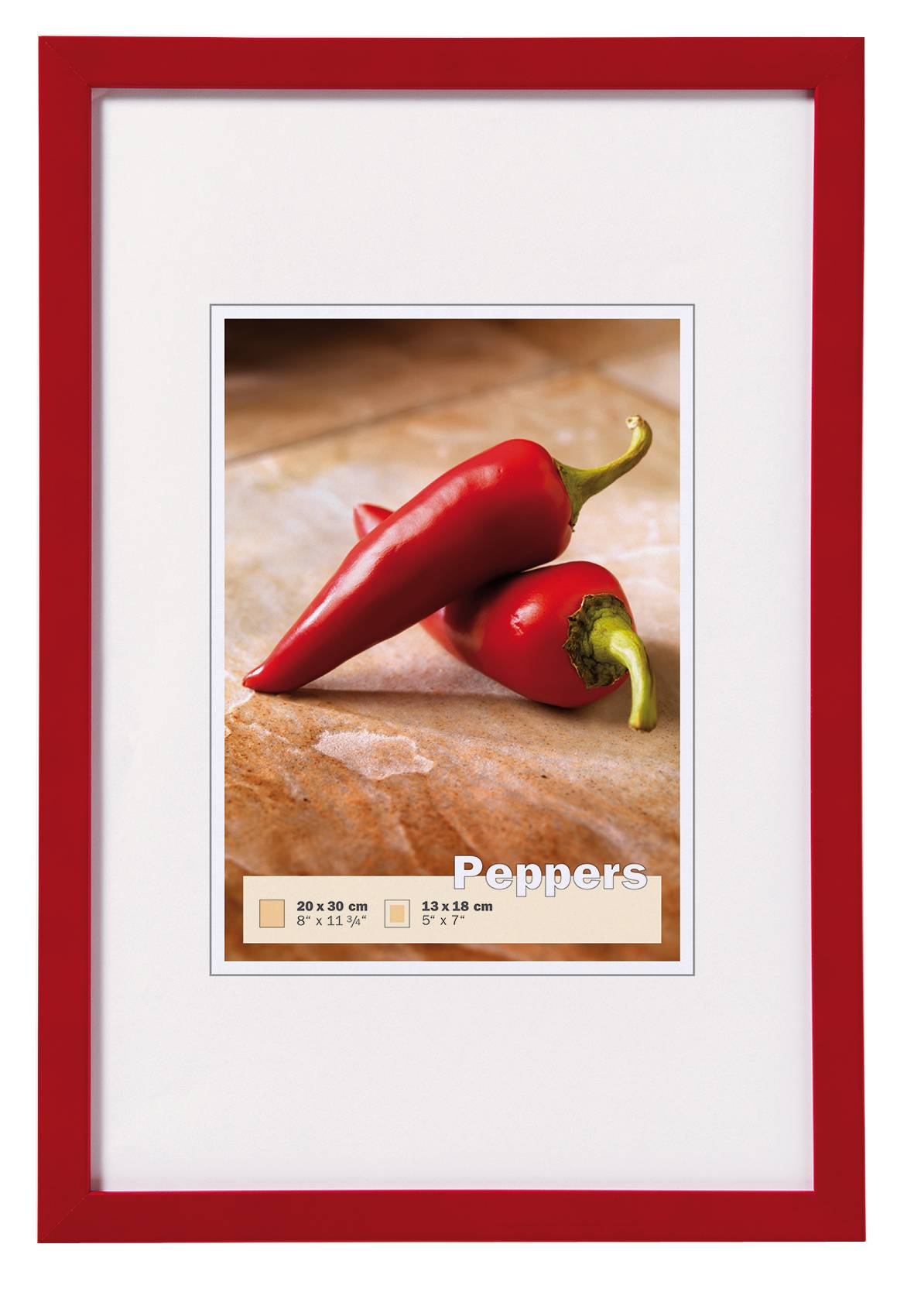 Walther Peppers Punainen 13x18 cm