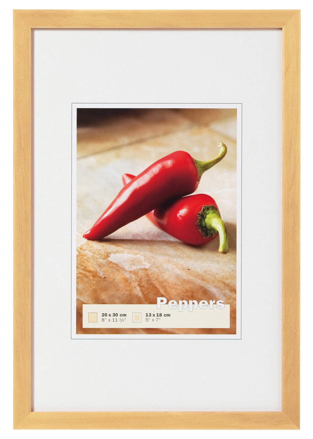 Walther Peppers Nature 30x45 cm