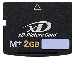 Difox Olympus M-XD 2GB Card Type M+