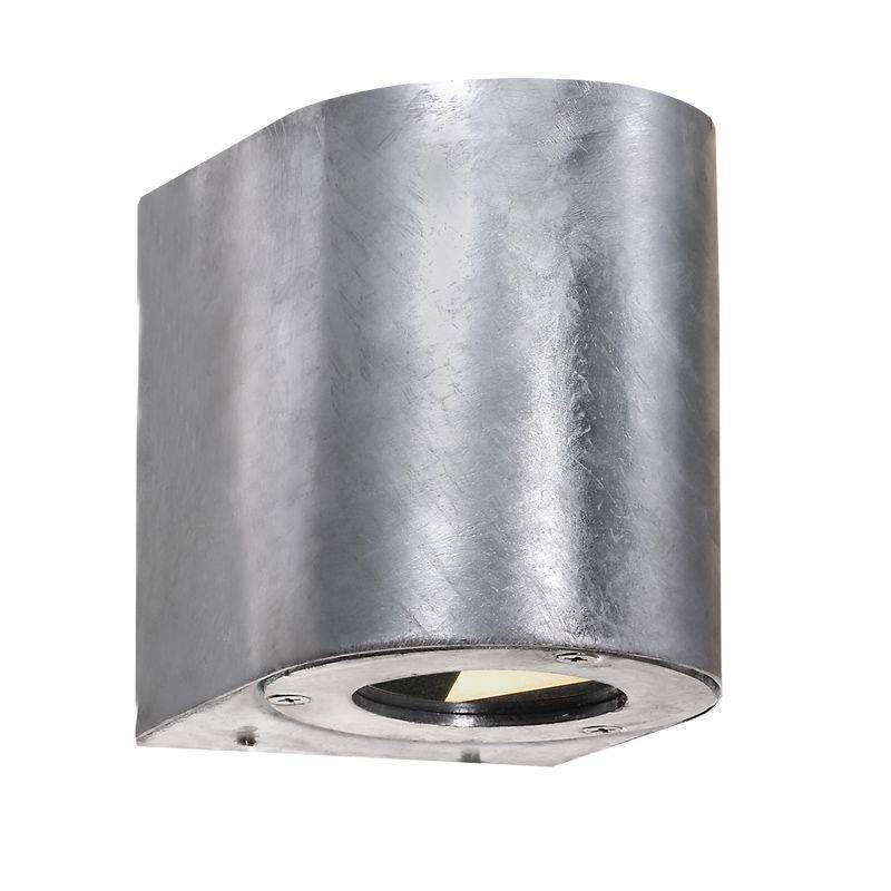 Nordlux Canto Galv. LED Seinä IP44