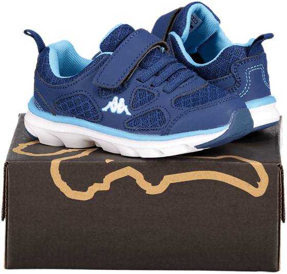 Kappa So Run F Run Inf Tennarit NAVY/TURQUISE (Sizes: 24)