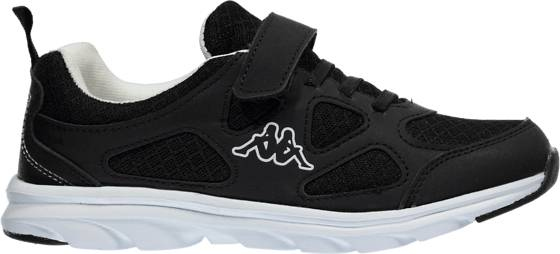 Kappa So Run F Run Jr Tennarit BLACK/WHITE (Sizes: 32)