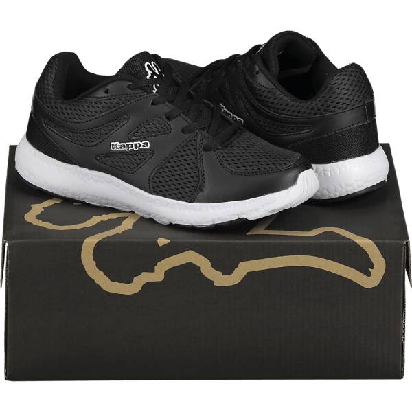 Kappa So Run F Run W Tennarit BLACK/WHITE (Sizes: 38)