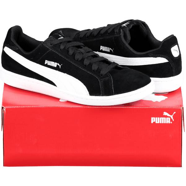 Puma So Smash Sd Tennarit BLACK/WHITE (Sizes: UK 7.5)