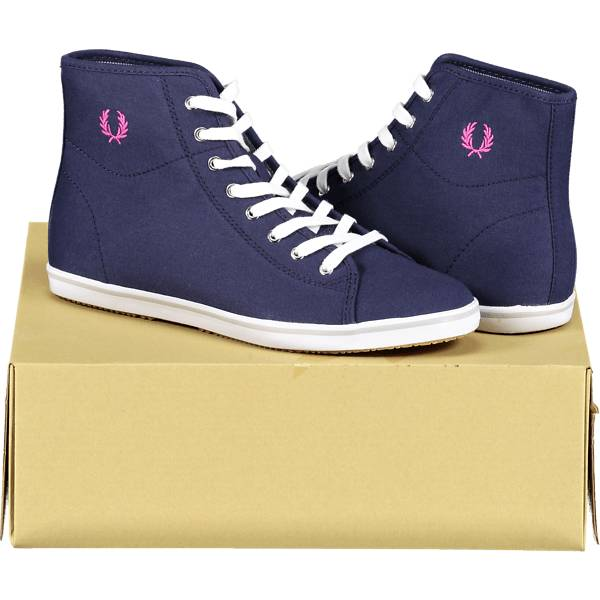 Fred Perry So Phoenix Mid W Tennarit CARBON BLUE (Sizes: 37)