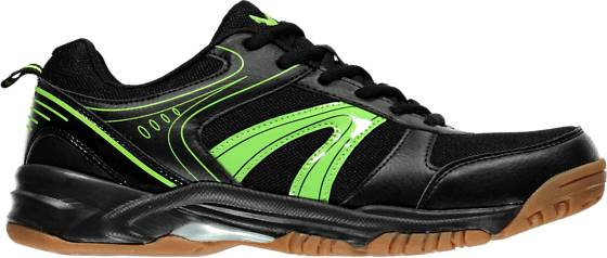 X Ttl Mailapelit X Ttl So Indoor Court U BLACK/LIME (Sizes: 36)