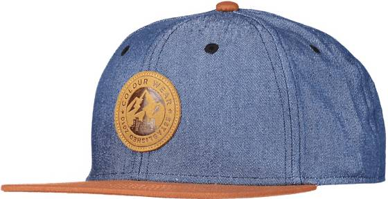Colour Wear Lippikset Colour Wear So Badge Cap U DENIM BLUE (Sizes: One size)