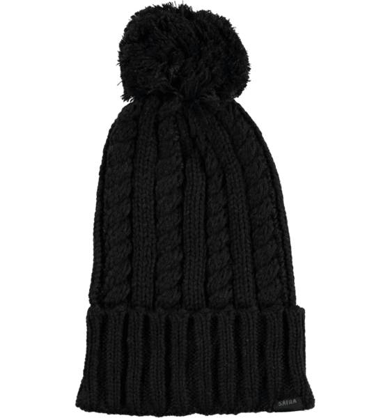 Sätila Pipot & huivit Sätila So Cable Knit Pom BLACK (Sizes: No size)