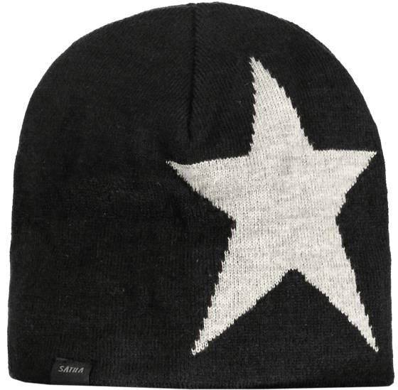 Sätila Pipot Sätila So Star Beanie Jr BLACK / GREY (Sizes: No size)