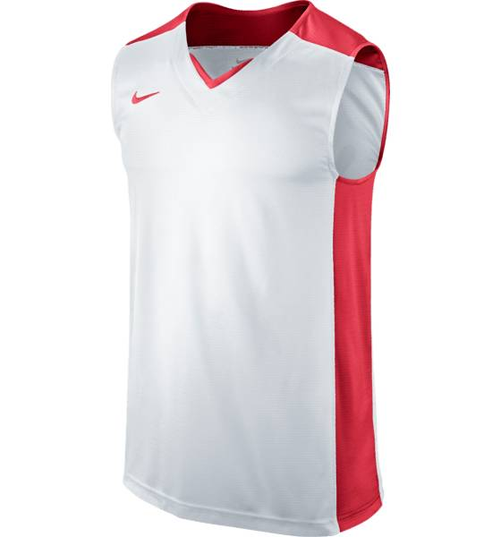 Nike Post Up Sleeveless T-paidat WHITE  / RED (Sizes: XS)