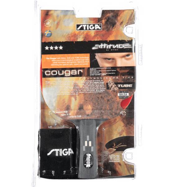 Stiga Mailapelit Stiga So Cougar 4-x BLACK (Sizes: No Size)