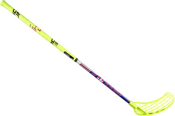 Unihoc Salibandy Unihoc So Curve 1.5º 29 U NEON YELLOW (Sizes: Right)