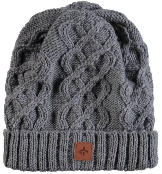 Cross Pipot & huivit Cross So Cable Beanie GREY (Sizes: One size)