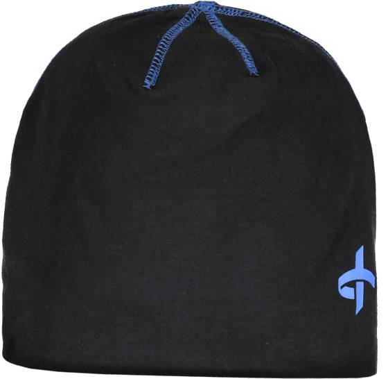 Cross Sportswear Pipot & huivit Cross Sportswear So Tight Beanie BLACK/VICTORI BLUE (Sizes: One size)