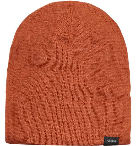 Sätila Pipot & huivit Sätila So Solid Beanie RUST (Sizes: No Size)