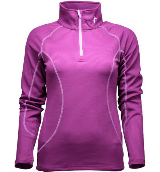 Cross Sportswear So Warm 1/2 Zip W Aluskerrastot DARK FUCHSIA (Sizes: L)