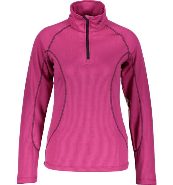 Cross Sportswear So Warm 1/2 Zip W Aluskerrastot FUCHSIA (Sizes: XS)