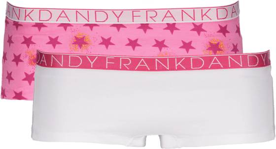 Frank Dandy So L 2-p Boxer W Alusvaatteet PINK GALAXY/WHT/PI (Sizes: S)