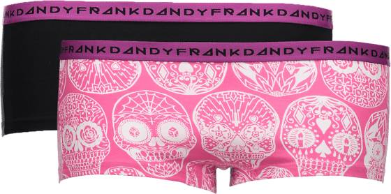 Frank Dandy Alusvaatteet Frank Dandy So L 2-p Boxer W CALAV PINK/BLK (Sizes: S)