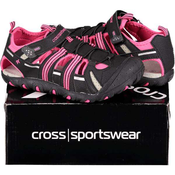 Cross Sportswear So Summer Sand Jr Sandaalit BLACK/PINK (Sizes: 29)