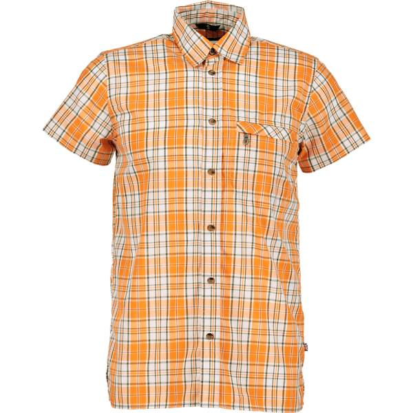 Trekmates So Trek Shirt M Yläosat ORANGE CHECK (Sizes: M)