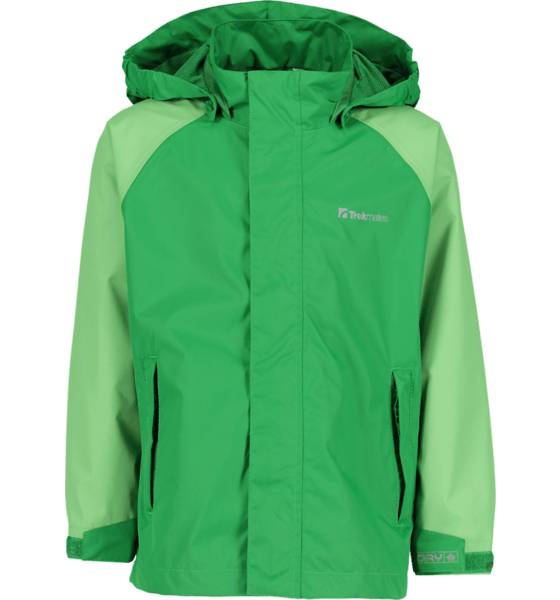 Trekmates So Dry Jacket Jr Sadevaatteet GREEN/PEPPERMINT (Sizes: 158-164)
