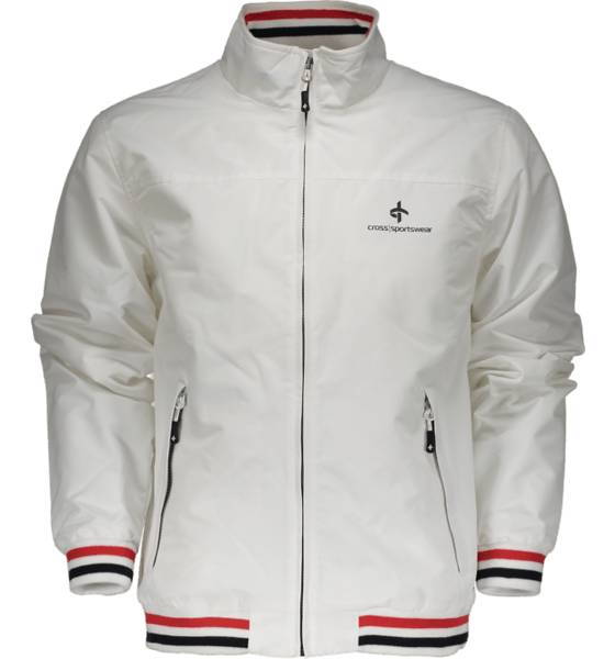 Cross Sportswear Takit Cross Sportswear So Bay Jkt M WHITE (Sizes: S)