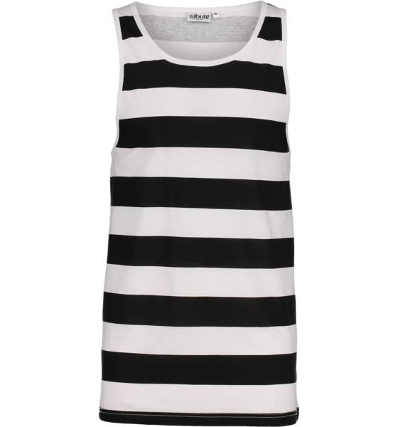 Tribute So Print Tank M T-paidat WHITE/BLACK STR (Sizes: S)
