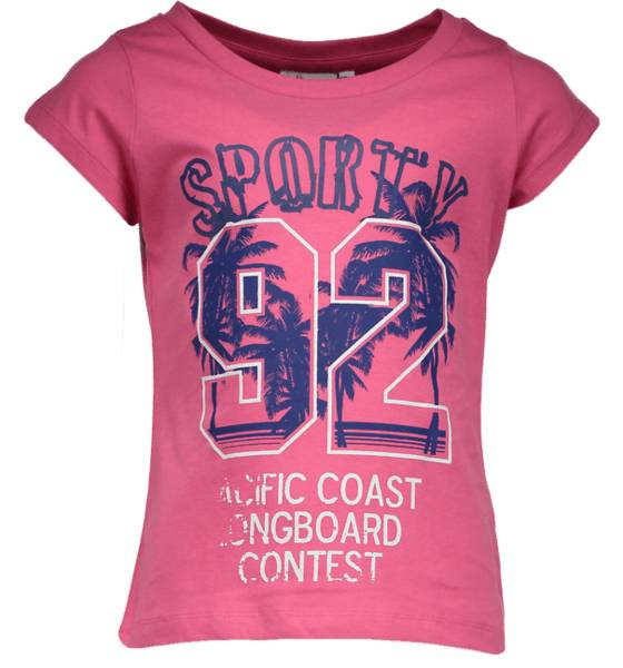 Tribute T-paidat & topit Tribute So Print Tee G Jr SPORTY CERISE (Sizes: 150)