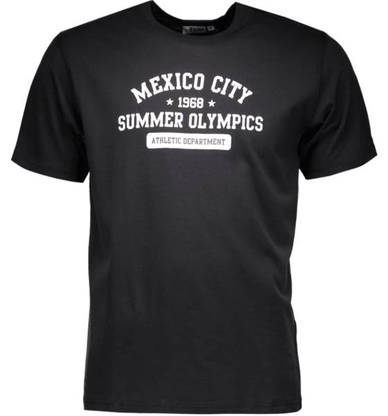 Tribute T-paidat Tribute So Print Tee M MEXICO BLACK (Sizes: S)