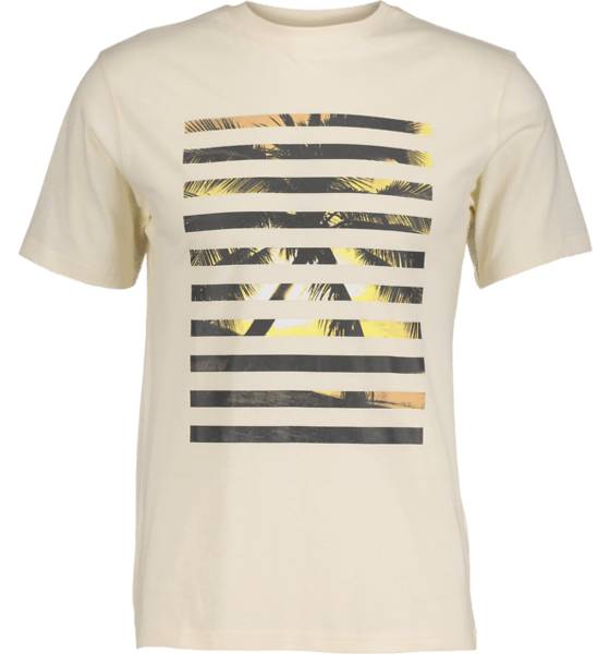 Tribute T-paidat Tribute So Print Tee M PALM OFFWHITE (Sizes: M)