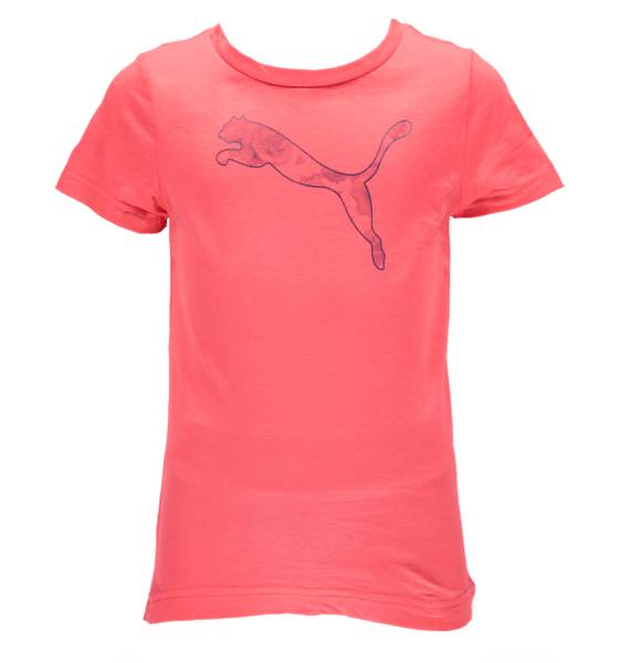 Puma T-paidat & topit Puma So Fun Tee G Jr CAYENNE (Sizes: 128)