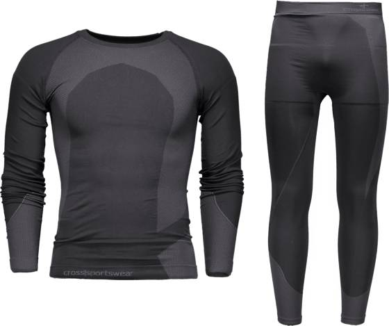 Cross Sportswear So Seamless Set 2m Aluskerrastot BLACK (Sizes: M/L)