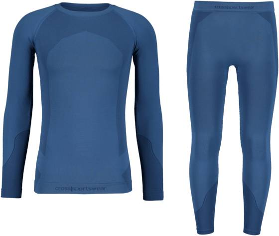 Cross Sportswear So Seamless Set 2m Aluskerrastot DK BLUE (Sizes: M/L)