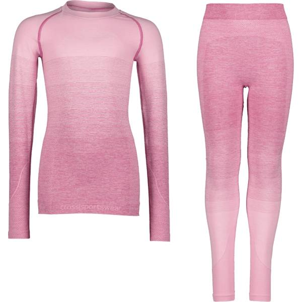 Cross Sportswear So Seamless Set Jr Aluskerrastot PINK HOMBRE (Sizes: 134-140)