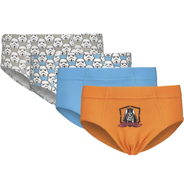 Star Wars Alusvaatteet Star Wars So 4-p Brief Jr ORANGE/TURQUISE (Sizes: 98-104)