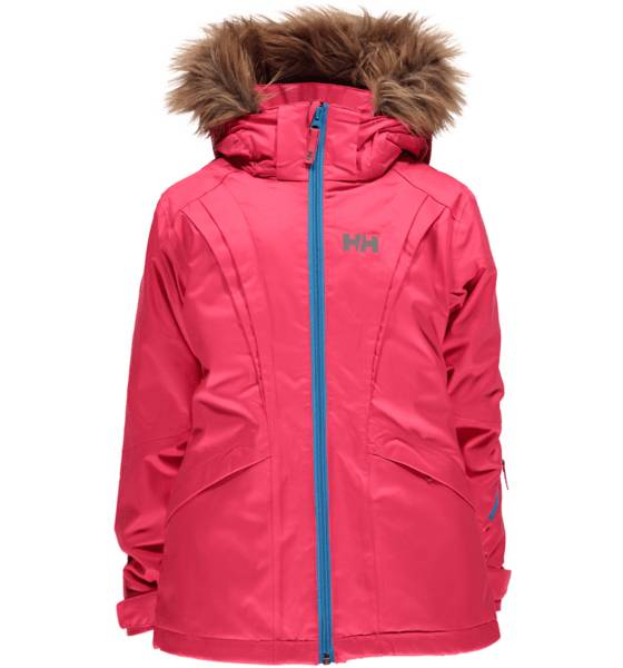 Helly Hansen Takit Helly Hansen So Nova Ski Jkt Jr PINK GLOW (Sizes: 12)