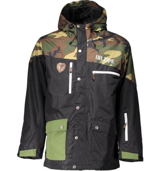 Dr Zipe Takit Dr Zipe So Epidemic Jkt M BLACK CAMO (Sizes: XL)