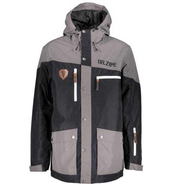 Dr Zipe Takit Dr Zipe So Epidemic Jkt M BLACK/GREY (Sizes: XL)