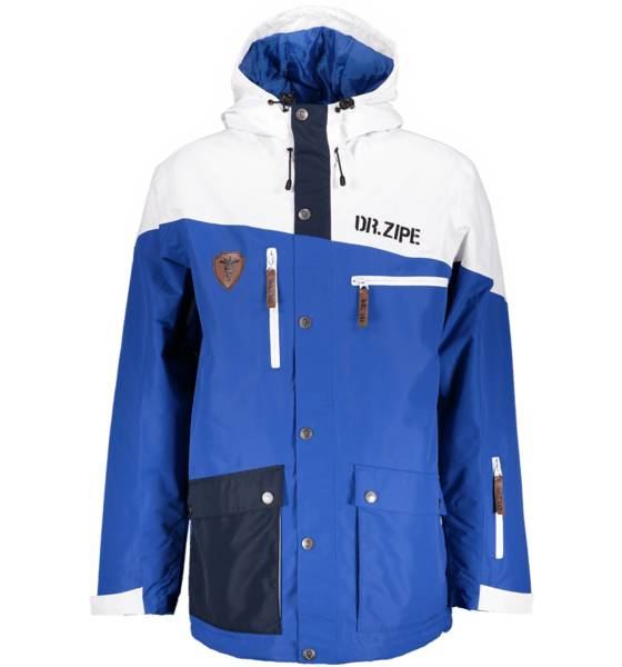 Dr Zipe Takit Dr Zipe So Epidemic Jkt M BLUE/OFFWHITE (Sizes: XXL)