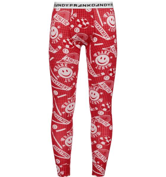 Frank Dandy Alusvaatteet Frank Dandy So Fd Long Johns M ATHL PRINT RED (Sizes: S)