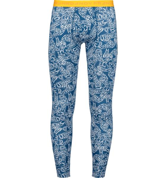 Frank Dandy Alusvaatteet Frank Dandy So Fd Long Johns M BANNER PRINT BLUE (Sizes: XXL)