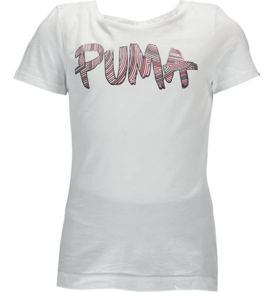Puma T-paidat & topit Puma So Fun Logo G Jr WHITE (Sizes: 128)