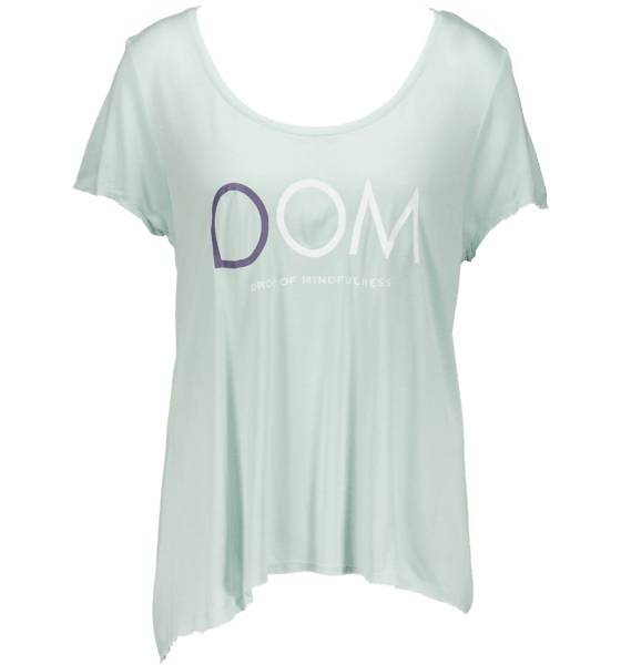 Drop Of Mindfulness Topit Drop Of Mindfulness So Goldie Tee W LIGHT MINT (Sizes: XS)