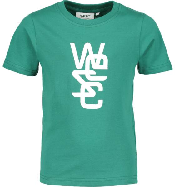 Wesc T-paidat & topit Wesc So Overlay Tee Jr GREEN (Sizes: 150)