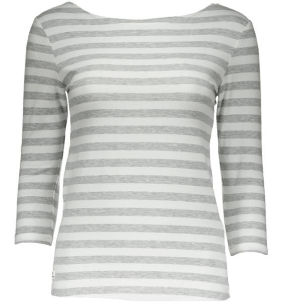 Cross Sportswear So 3/4 Sleeved Top Yläosat GREY MELANGE/WHT (Sizes: 44)