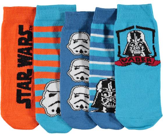 Star Wars Alusvaatteet Star Wars So 5p Star W Socks BLUE/RED (Sizes: 22-24)